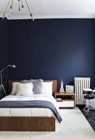 le de chevet chambre unique peinture bleu nuit chambre id es de design int rieur idee 6