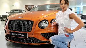 orange bentley collecting my new bentley luxury car vlog sophie shohet