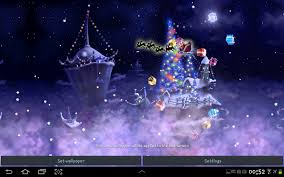 christmas snow fantasy live wallpaper android apps on google play