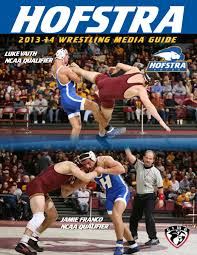 2013 14 hofstra university wrestling guide by hofstra university