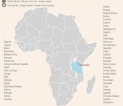 africa map study test your knowledge and track fast fashion with this interactive