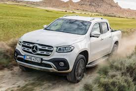 mercedes pickup truck mercedes benz x class u0027posh pick up u0027 priced from 32 772