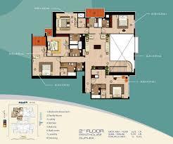 Dubai House Floor Plans Downloads For Sulafa Tower Dubai