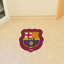 barcelona fc footbol 19 72 u0026 034 carpet u0026amp vinyl floor mat area
