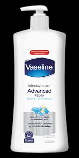 vaseline intensive care advanced repair unscented lotion vaseline