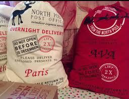 personalized santa sack santa sacks embroidered personalized santa sack pole