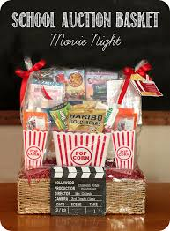 fundraiser auction basket movie night sources listed
