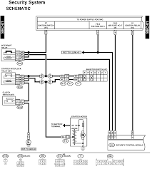 subaru alarm wiring diagram subaru wiring diagrams instruction