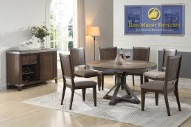 dining room sets with fabric chairs best master furniture best master furniture
