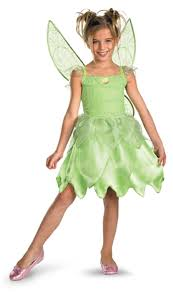 tink and the fairy rescue tinkerbell classic child girls costume