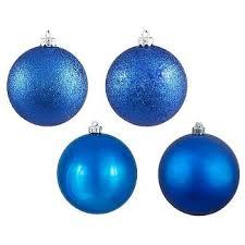 blue ornaments tree decorations target