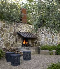 Stacked Stone Outdoor Fireplace - outdoor stone fireplaces stacked stone outdoor fireplace outdoor