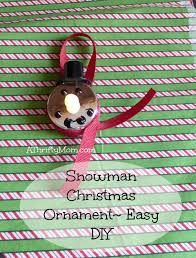 frozen inspired ornament melted olaf