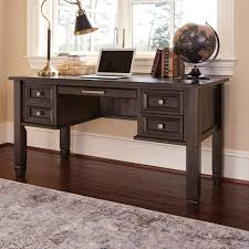 Ashley Furniture Home Office by Ashley Furniture Townser Home Office Desk In Grayish Brown Local