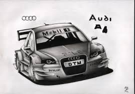 audi race car drawn race car audi car pencil and in color drawn race car audi car