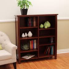 donnieann oakdale cherry open bookcase 608922 the home depot