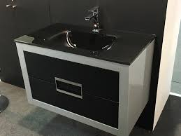 danya silver leather modern bathroom vanity 32 inch 32 inch width