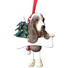 great gifts for basset hound ornaments