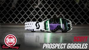 scott prospect motocross goggle 2018 2018 february giveaway scott prospect mx goggle youtube