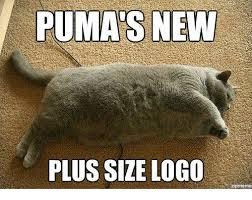 Puma Meme - puma s new plus size logo zipmeme meme on me me