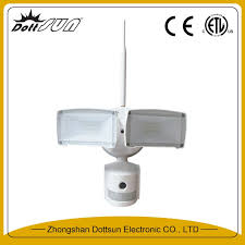 security light with camera built in home ac power 100 240v 22 26w 800 1600lm motion sensor security