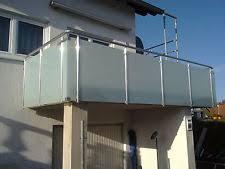 glas balkon aluminium balkon ebay