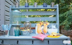 diy potting bench u0026 outdoor buffet table atta says