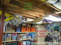 where do you store wreaths sweet pea