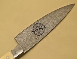 Quality Kitchen Knives Damascus Kitchen Knife Custom Handmade Damascus Steel Kitchen Chef