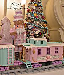 penny u0027s vintage home precious moments christmas train