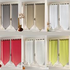 rideau fenetre chambre paire de rideaux fenêtre largeur 90 cm hauteur 90 cm finition pointe