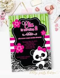 panda birthday invitation p01 shops birthday and
