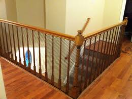 Banister Clips Cheap Way To Child Proof A Stairway With Banisters Which Are Too