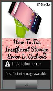 android dialer storage some advanced solutions to resolve insufficient storage error on