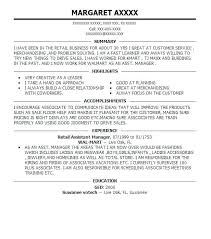 assistant manager resume this is retail manager resume goodfellowafb us
