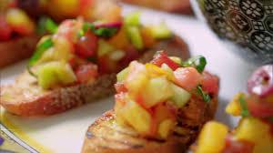tomato bruschetta recipe the neelys food network