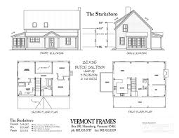 classic saltbox house plans post u0026 beam home plans in vt timber framing floor plans vt frames
