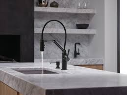 Black Kitchen Faucet by A Kitchen Faucet That Works Hard And Looks Good Doing It