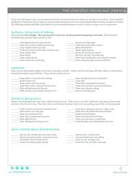 Bathroom Cleaning Checklist Template The Suite Life Move Out Cleaning Checklistvacant Apartment