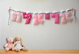 Personalized Nursery Decor Hebrew Name Banner Personalized Nursery Decor Baby Gift