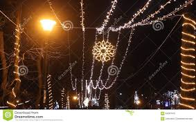 christmas light park near me christmas lights stock video image of bucharest outdoors 64267915
