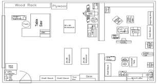 floor plan lay out workshop floor plan bob vila