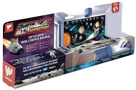 kinderzimmer 24 walltastic fototapete kinderzimmer wandbild weltraum planeten