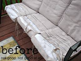 Recover Patio Cushions My Front Porch A And A Glue Gun