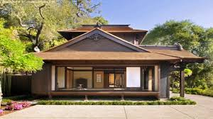 house style japanese style house in california