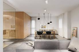 ep minimalist apartment designed by manca studio in shades of gray