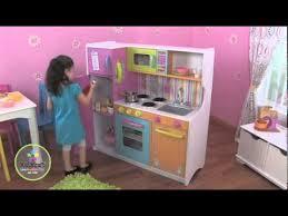 cuisine en bois pour enfant kidkraft