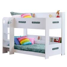 Funky Bunk Beds Uk Grade A1 Sky Bunk Bed In White Ladder Can Be Fitted Either