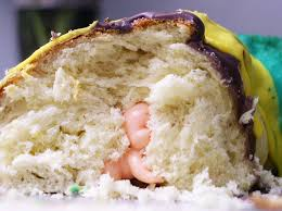 mardi gras cake baby why there s a tiny plastic baby in your mardi gras king cake in