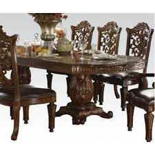 vendome traditional cherry wood oval dining table